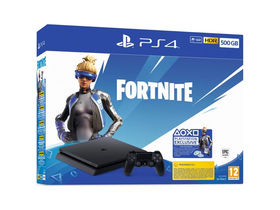 PlayStation® PS4 Slim 500GB, crna+ Fortnite Neo Versa konzola