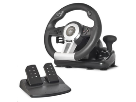 Spirit of Gamer Kormány - RACE WHEEL PRO  PC / PS2/3 kompatibilis, fekete