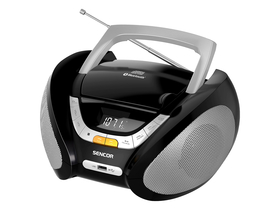 Sencor SPT 2320 prijenošljiv Bluetooth radio sa CD playerom, AUX/USB