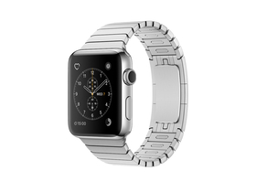 Apple Watch Series 2, 38mm Stainless Steel Case with Silver Link Bracelet (mnp52mp/a)