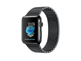 Apple Watch Series 2, 38mm Space Black Stainless Steel Case with Space Black Link Bracelet (mnpd2mp/a)