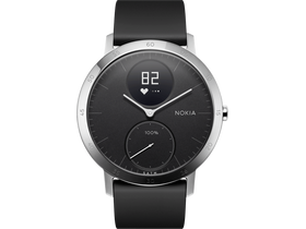 Nokia Steel HR (40mm) okosóra, Black