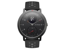 Withings Steel HR Sport smart hodinky, černé (40mm)