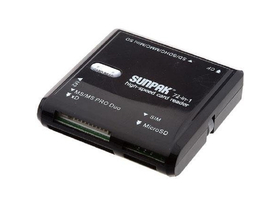 Card reader Sunpak 72 In 1 USB 2.2  + card SIM