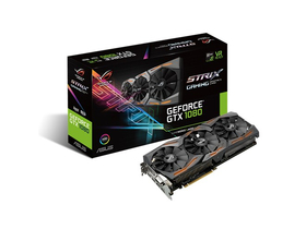 Placa video Asus nVidia Strix GTX 1080 8GB GDDR5X  - STRIX-GTX1080-A8G-GAMING