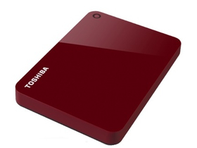 "Toshiba Canvio Advance 2,5""  2 TB USB 3.0, Red"