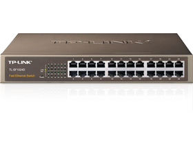 TP-LINK TL-SF1024  24port switch metal