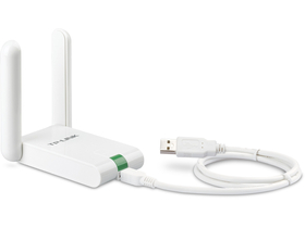 TP-LINK TL-WN822N 300M Wireless USB adapter+ антена 4 dBi