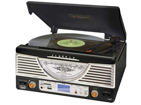 Classic Music System Stereo Disc Player with Mp3 Trevi TT 1062 E, черен