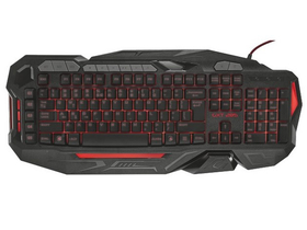 Trust GXT 285 Advanced USB crni gamer tipkovnica, US