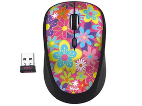 Mouse wireless Trust Yvi Flower Power   notebook