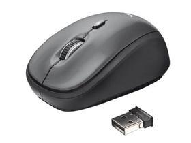 Mouse Trust Yvi wireless notebook, gri (18519)