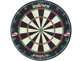 Tablă darts Garlando (GL-43100) Unicorn Sizal Radius