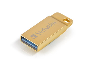 Memorie USB Verbatim Exclusive Metal 32GB USB 3.0, gold