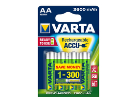 Varta Ready2use NiMh 2600mAh AA 4ks