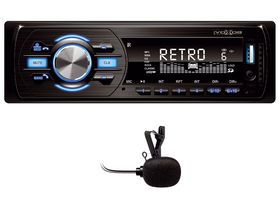 SAL VB 4000 Bluetooth autorádio, AM / FM / MP3 / WMA / USB / SD / AUX