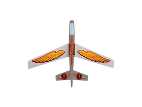 "Avion 36"" Spartan Color Glider, alb"