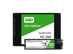 "WD Green Series 240GB 2,5"" SATA3 SSD (WDS240G1G0A)"