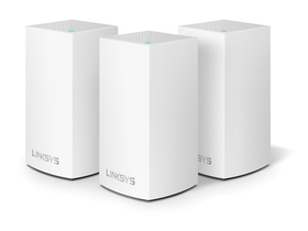 Linksys Velop AC1200 MESH Access Point, 3 Stk.