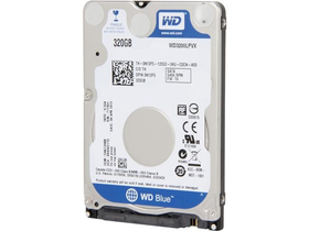 "Western Digital 2,5"" 320GB sATAIII 5400RPM 8MB Blue Scorpion advanced format WD3200LPVX"