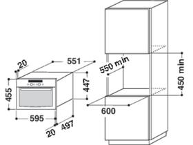 Whirlpool amw 831 ixl eingebaute mikrowelle extreme digital for Eingebaute mikrowelle