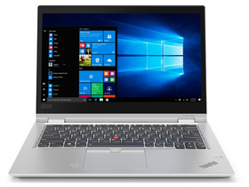 Lenovo ThinkPad X380 Yoga 20LH001KHV notebook, ezüst + Windows 10 Pro