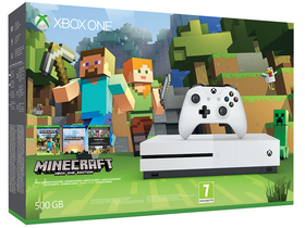 Xbox One S 500 GB Minecraft hrací konzol