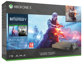 Microsoft Xbox One X 1TB LE igralna konzola + Battlefield V + Battlefield 1943 + darilo Metal Gear Survive Game Software