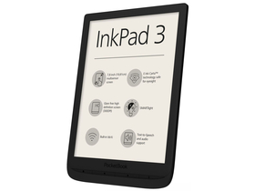 "PocketBook InkPad 3 7,8"" Ebook Reader, schwarz"