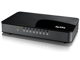 Zyxel GS-108Sv2 8 portos Gigabit asztali Media switch