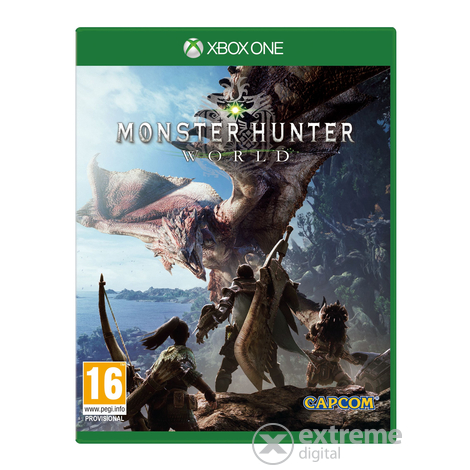 Monster Hunter: World  Xbox One játékszoftver