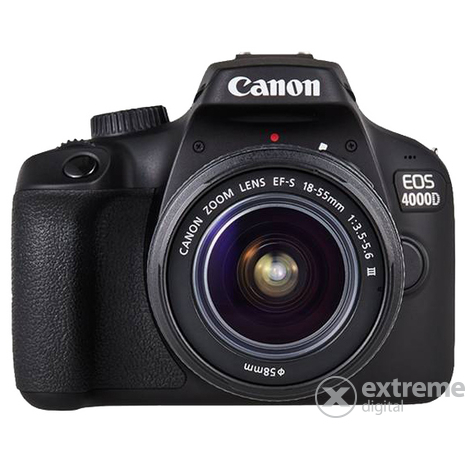 Canon EOS 4000D kit  (18-55mm objektiv)