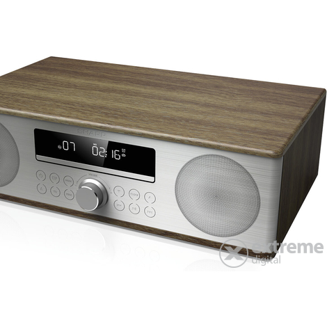 Sharp XL-B710BRV01 Bluetooth mini hifi 2.0, smeđa