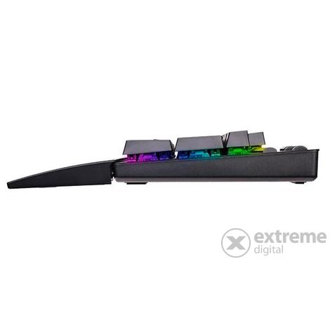 Thermaltake eSPORTS Neptune Elite RGB gamer vezetékes billentyűzet (US)  brown switch