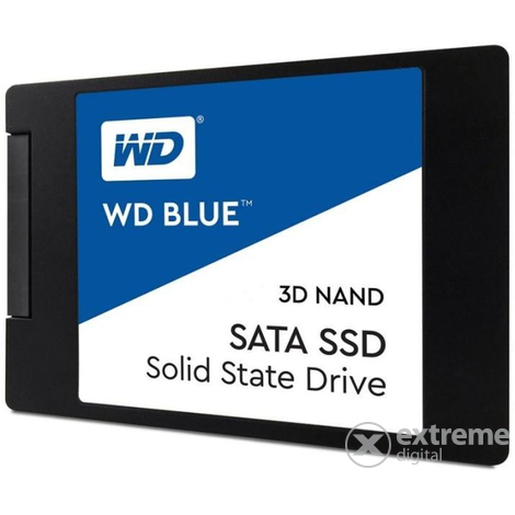 "Western Digital Blue 500GB 3D NAND SATA3 2,5"" SSD"