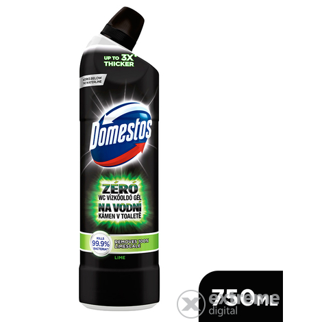 Domestos Zéró WC vízkőoldó, Lime (750ml)