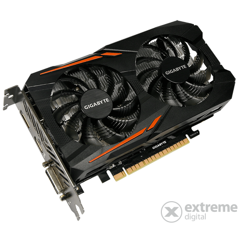Placa video Gigabyte nVidia GTX 1050 Ti OC 4GB GDDR5 - GV-N105TOC-4GD