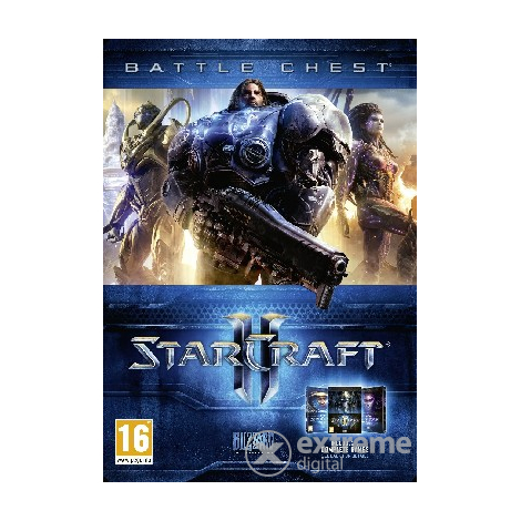 Starcraft II Battlechest 2.0 PC herní software
