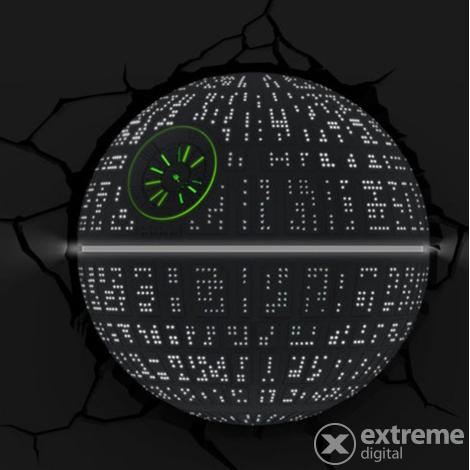 3D LED Fali lámpa Star Wars Halálcsillag