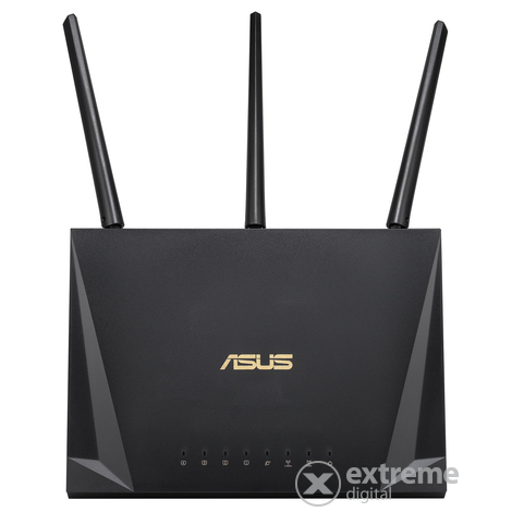 Asus RT-AC65P AC1750Mbps kétsávos gaming wifi router