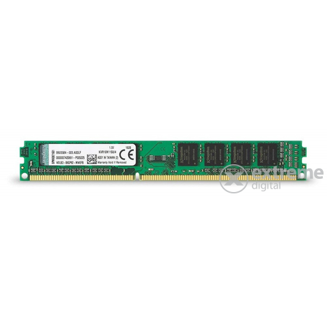 Kingston Single Rank DDR3 4GB 1600MHz memória modul (KVR16N11S8/4)
