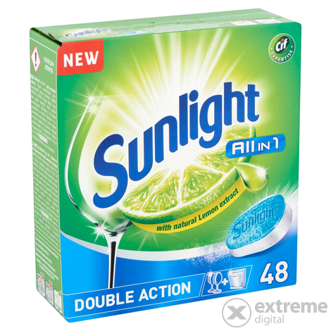 Sunlight All in One  tablete za perilice suđa, 48 kom