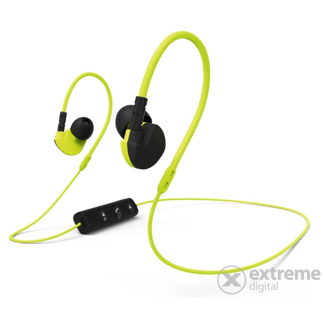 Hama Clip-On bluetooth sport headset, sárga