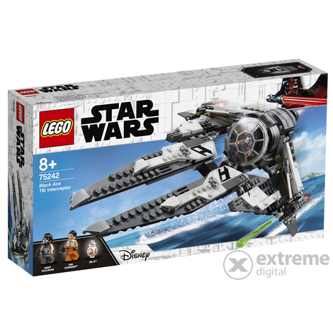 LEGO® Star Wars™ 75242 Black Ace TIE elfogó