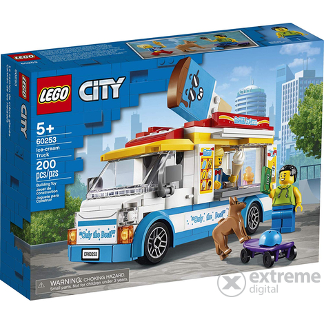 LEGO® City Great Vehicles 60253 Fagylaltos kocsi