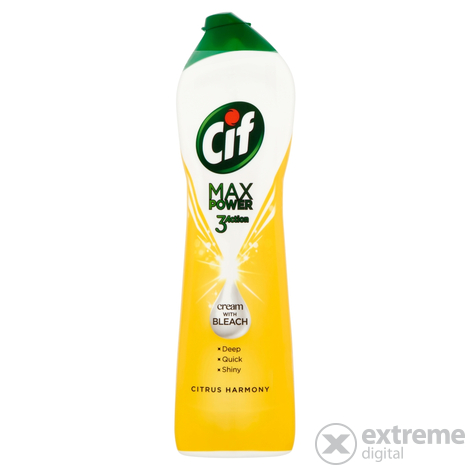 Cif Max Citrus power súrolókrém, 450ml