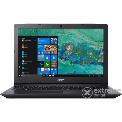 "Acer Aspire A315-51-351J NX.H9EEU.005 15,6"" notebook, fekete + Win10"