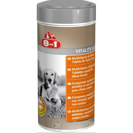 8in1 Multi Vitamin- Idős 70 db