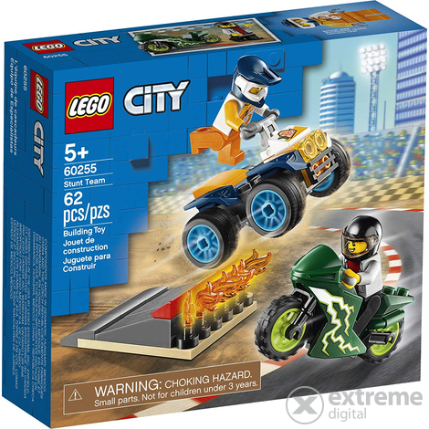 LEGO® City Turbo Wheels 60255 Kaszkadőr csapat