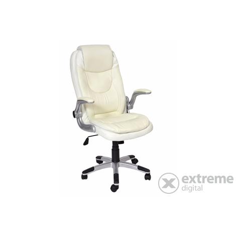 US 29 Bristol textilbőr irodai forgószék, fehér | Extreme